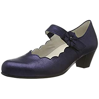 Gabor Shoes Damen Comfort Basic Pumps Blau (Midnight 66) 42.5 EU