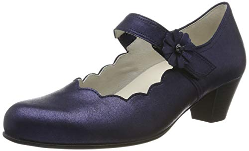 Gabor Shoes Damen Comfort Basic Pumps, Blau (Midnight 66), 42 EU
