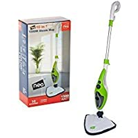 10 in 1 1500W Neo® Hot Steam Mop Cleaner Floor Carpet Window Washer Hand Steamer (Green)