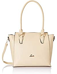 Lavie TOPIRAMATE Women's Satchel (Beige)