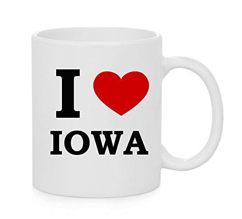 I heart Iowa ( Love ) Mug ufficiale