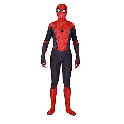 SHANGN Neue Spider-Man Halloween Kostüm Overall 3D Print Spandex Lycra Spiderman - Kinder Adult Movie Cosplay Kostüm,Adult-XXXL