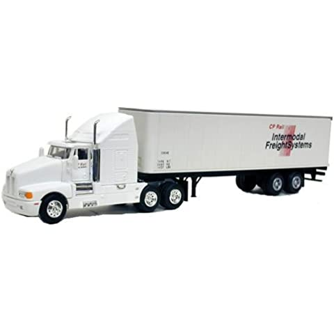 Ho 1:87 Tractor and Trailer Cp Rail Intermodel Frieght Systems Diecast and Turotuff ABS Construction by Model Power