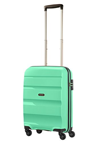 American Tourister Bon Air - Spinner, 55 cm, 31.5 liters, Bagage Cabine, Vert (Mint Green)