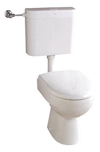 Keramag Renova Nr. 1 Stand-WC-Set | Stand WC inklusive WC-Sitz und Spülkasten | Weiß
