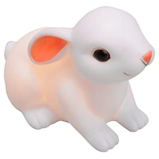 Adept Home 124921 Rabbit Night Light, Polyester/PVC, Multi-Colour, 11.18 x 8.3 x 7 cm