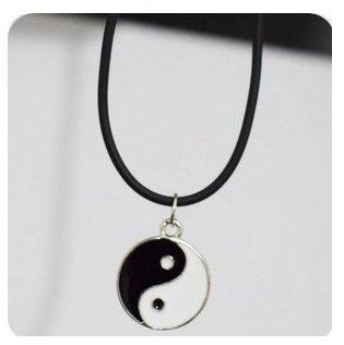 YIN YANG Choker/90er/Grunge Halsband/90er Collier/90er Jewelry/Grunge Jewelry Halskette/Yin Yang/Yin Yang ()