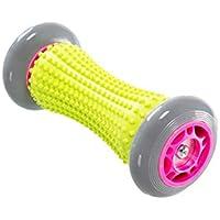 Rouleau de massage – Powerball – Parfait pour des massages en profondeurs des tissus musculaires des pieds, jambes et bras