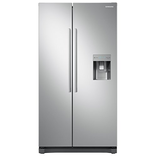 Samsung RS52N3313SA No Frost Side-by-side Fridge Freezer With Non-plumbed Water Dispenser - Silver Best Price and Cheapest
