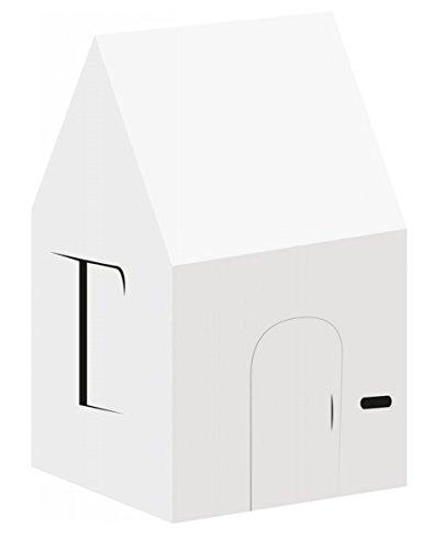 yceltem Karton Haus, mehrfarbig, one size (Karton Haus Kostüm)
