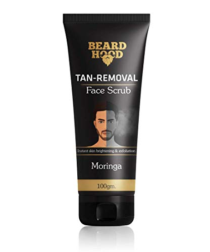 Beardhood Tan Removal Face Scrub, 100g