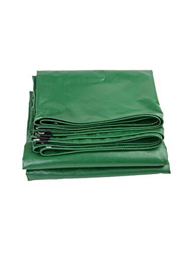 KCoob Couverture imperméable de Pluie de Poly tarps de Couverture imperméable de Toit pour Les tentes extérieures d'utilisation, Voiture, Camping, Vert d'armée de Navigation (Size : 6m*4m)