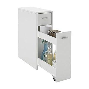 FMD Möbel 930 001 Kommode Denia 20 X 61 X 45 Cm, Weiß