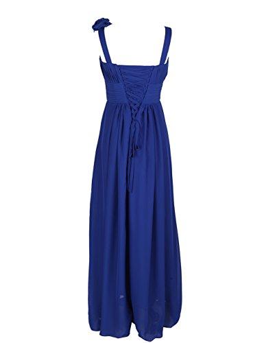 Dresstells, Robe de soirée/cérémonie/demoiselle d'honneur col en cœur bretelles classiques une ligne avec fleurs Menthe