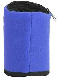 Generic Wristband Organizer Pocket Card Coin Key Storage Bag Sport Wallet (Blue)