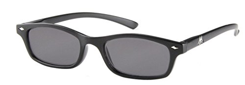 Madison & Mulholland High Tech Sun Readers 400 UVA/UVB Coated Protection Rectangle...