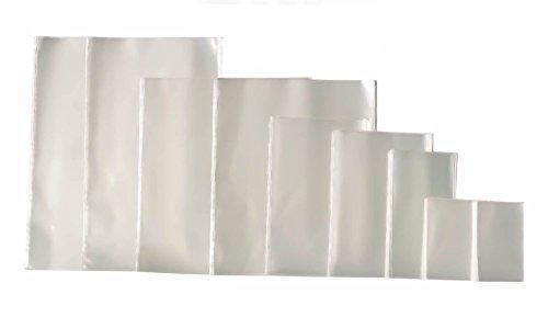 100 St. Hochglanz Klar Beutel Tüte Versandtasche Polybeutel PP-Tüte Folienbeutel PP-Beutel (30 Größen zur Auswahl) (25x40)