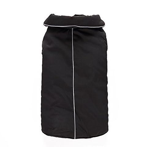 Uni Meilleur Chien Vogue réversible réfléchissant Gilet de sport d'hiver et de chien Vêtements Manteau Veste Gilet réfléchissant Couverture avec doublure