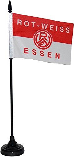 tischflagge-sound-rot-weiss-essen-34-x-6-cm-gratis-aufkleber-flaggenfritzer