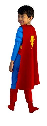 Cesar F573Cape Superhelden 5/10Jahre, - Französische Kostüm Kinder