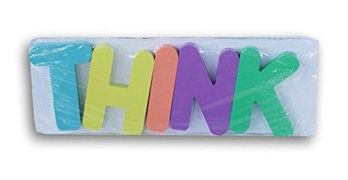 z Buchstaben Klassenzimmer Decor Schild Small Think ()