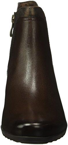 Caprice 25336, Bottes Chelsea Femme Marron (Dk Brown Comb 328)