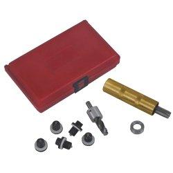 Lisle Oil Pan Plug Nachschneiden von Gewinden Kit Tools Equipment Hand Werkzeug