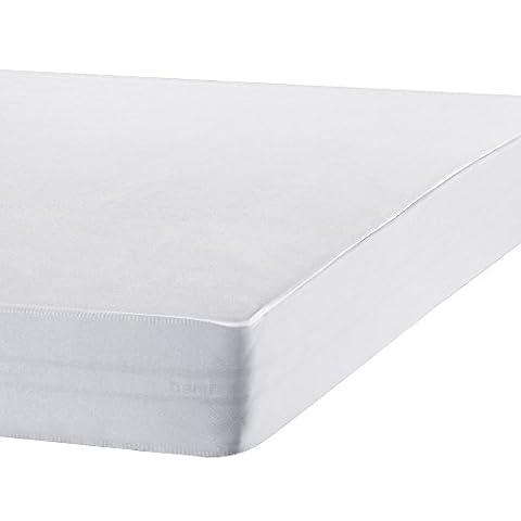 Bedecor Protège Matelas Imperméable et Respirante de Blanc Tencel(180x200 - 180x190 cm)
