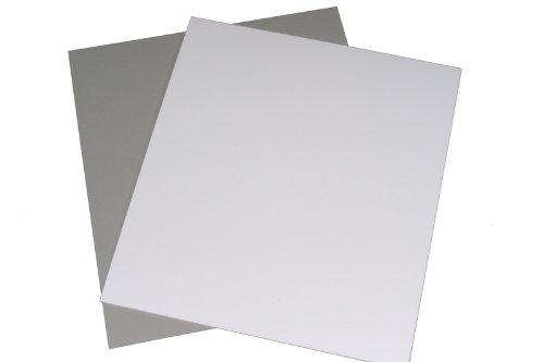 LP Schallplatten Registerwände weiß Protected (25 Stück) -