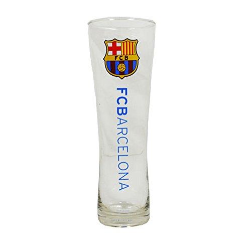 Vaso peroni de pinta con marca del FC Barcelona. Producto ideal para todos los fans del equipo mientras ven los partidos. Producto oficial bajo licencia.