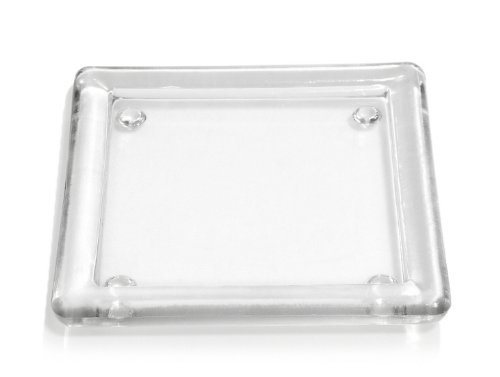 4 Glasuntersetzer (eckig - 136 mm)