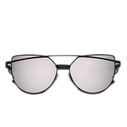 OULN1Y Sport Sonnenbrillen,Vintage Sonnenbrillen,Sunglasses Women Vintage Metal Reflective Glasses For Women Mirror Retro