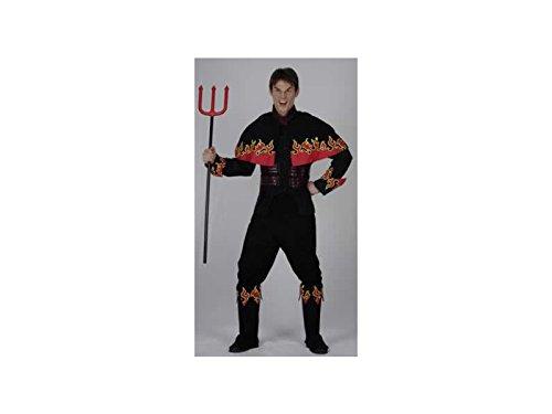 JUGUETILANDIA Kostüm Luzifer Mann Größe XL (Luzifer Kostüm Männer)