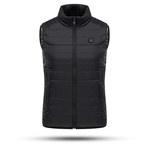 313%2BRizEAcL. SS500  - Ymorit Electric Heated Vest, 3 Heating Modes Adjustable Body Warmer, Washable USB Charging Heated Clothing Winter Warm Gilet(Black)