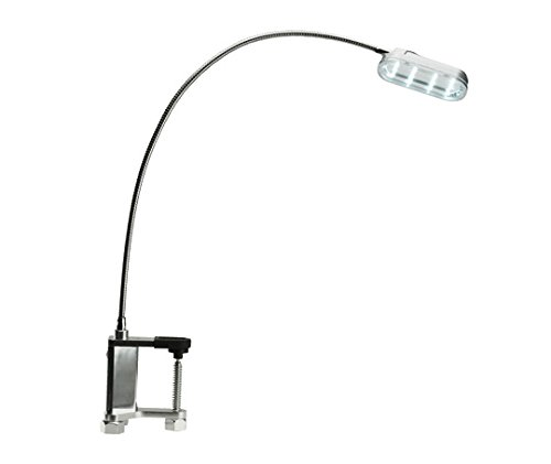 Landmann Lights Grilllampe mit 12 Led, flexible schwanenhals, silber - Flexible Grill
