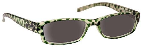 Pretty Smart Glasses UV Reader Sonne Leser Lesebrille Sonnenbrille Damen Grün UVSR009+ 2,50 -