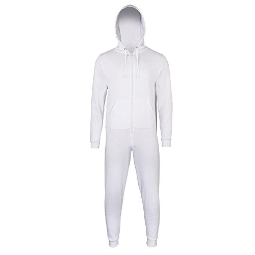 Comfy Co - Jumpsuit 'All-in-One' White