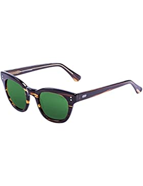 Ocean Sunglasses Ski Gafas de Sol Polarized Santa Cruz (47 mm) Marrón