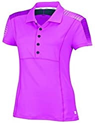 Wilson WRA707002MD - Camiseta para mujer, color rosa, talla M