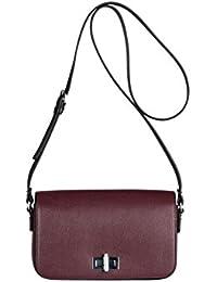 Kesslord Saffia Bicolor - Bolso al hombro de Otra Piel para mujer multicolor Bordeaux / Noir - BX/N