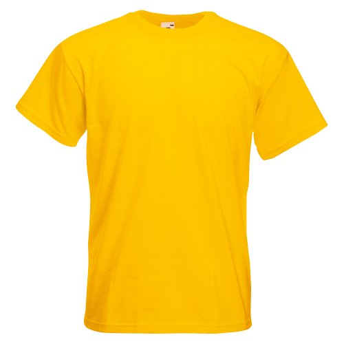 Fruit of the Loom Super Premium T-Shirt Sunflower