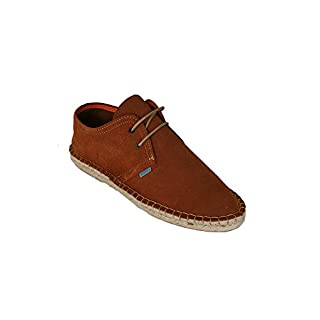La Auténtica Men's Espadrilles brown Camel brown Size: 11