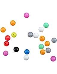 Befaith 100pcs por paquete en forma de bolas de pesca plástica en forma de pesca señuelos pesca de bolas