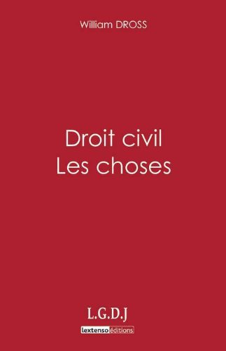 Droit civil : Les choses