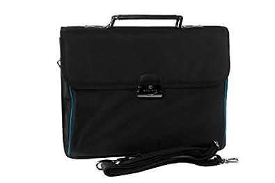 malette professionnel homme femme roncato sacoche bureau noir porte pc 15 h182. Black Bedroom Furniture Sets. Home Design Ideas