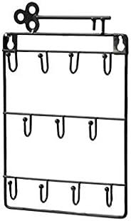 Garneck Wall Hook Wall Mounted Key Holder Iron Wall Rack Jewellery Display Rack Bathroom Towels Hanger for Hom