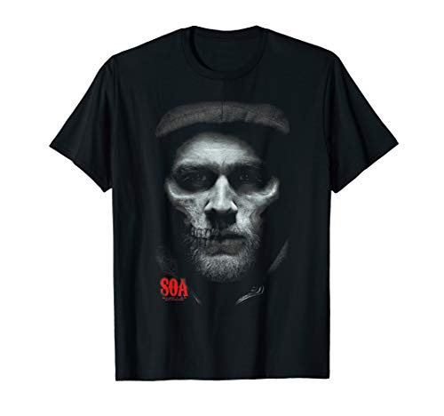 Sons of Anarchy Skull Face T Shirt (Sons Of Anarchy Womens)