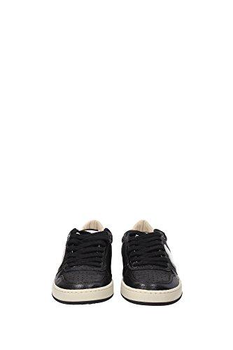 LKLDWE02 Philippe Model Sneakers Femme Cuir Noir Noir