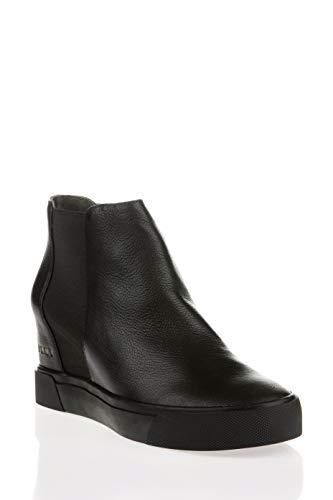 DKNY Chelsea Sneaker Wedge Damen Stiefel Schwarz