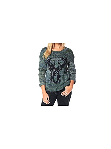 LTB Jeans Damen Pullover NOSEZO BLUE GREEN MIXED 8599.0